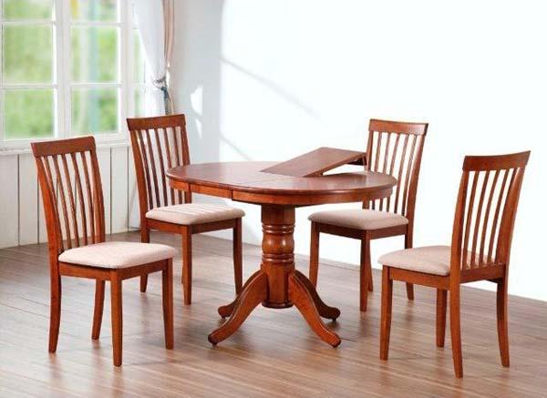 Обеденная группа (стол + 4 стула)