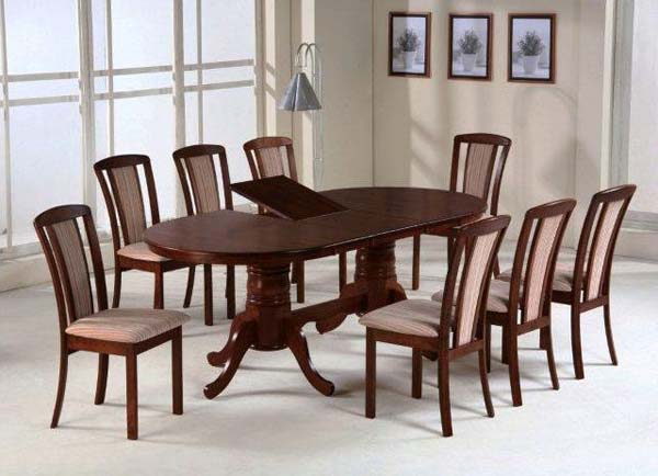 Обеденная группа (стол + 8 стульев)