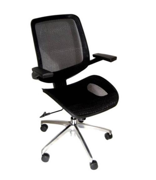 Офисное кресло сетчатое «Сатурн»