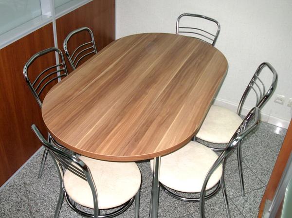 Овальный стол мерано