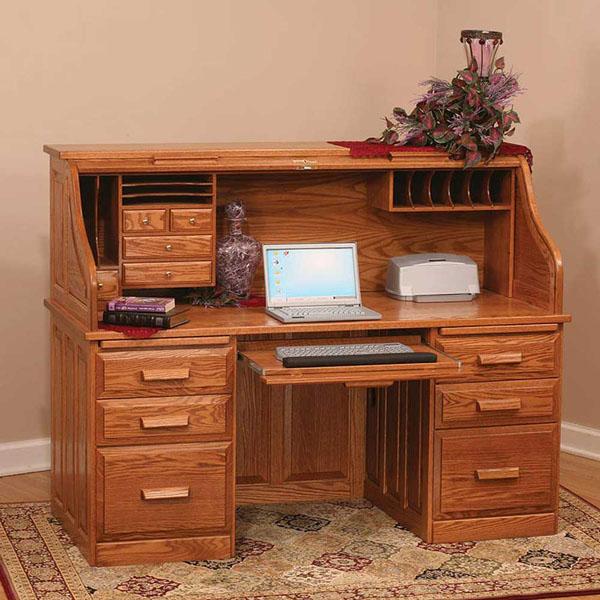 Письменный стол с лакированным покрытием