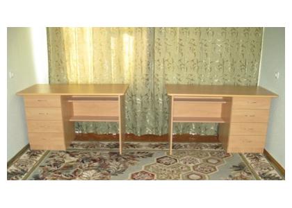 Письменный стол с полками и ящиками «С-7»