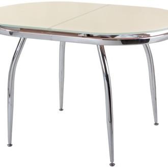 Полукруглый стеклянный обеденный стол «Бакарди»