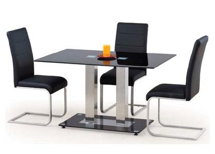 Прямоугольный стеклянный стол «Walter 2»