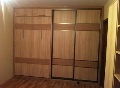 Шкаф-кровать с антресолью