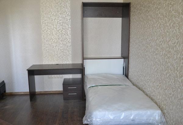 Шкаф-кровать в цвете венге