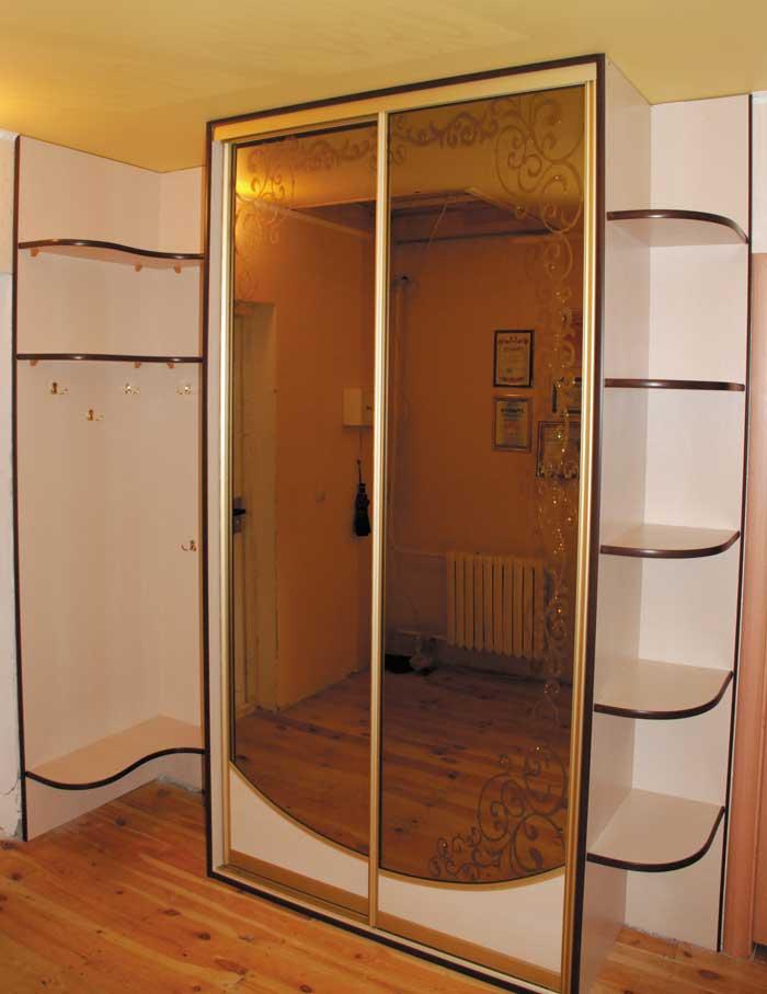 шкаф-прихожая в открытом виде фото