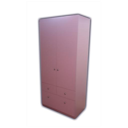 Шкаф для детской розовый