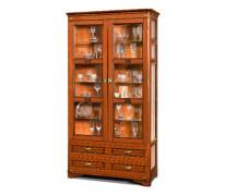 Шкаф с витриной «Марина» СКМ-001-42