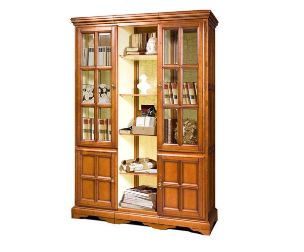 Шкаф с витриной «Сальвина» СКМ-003-35