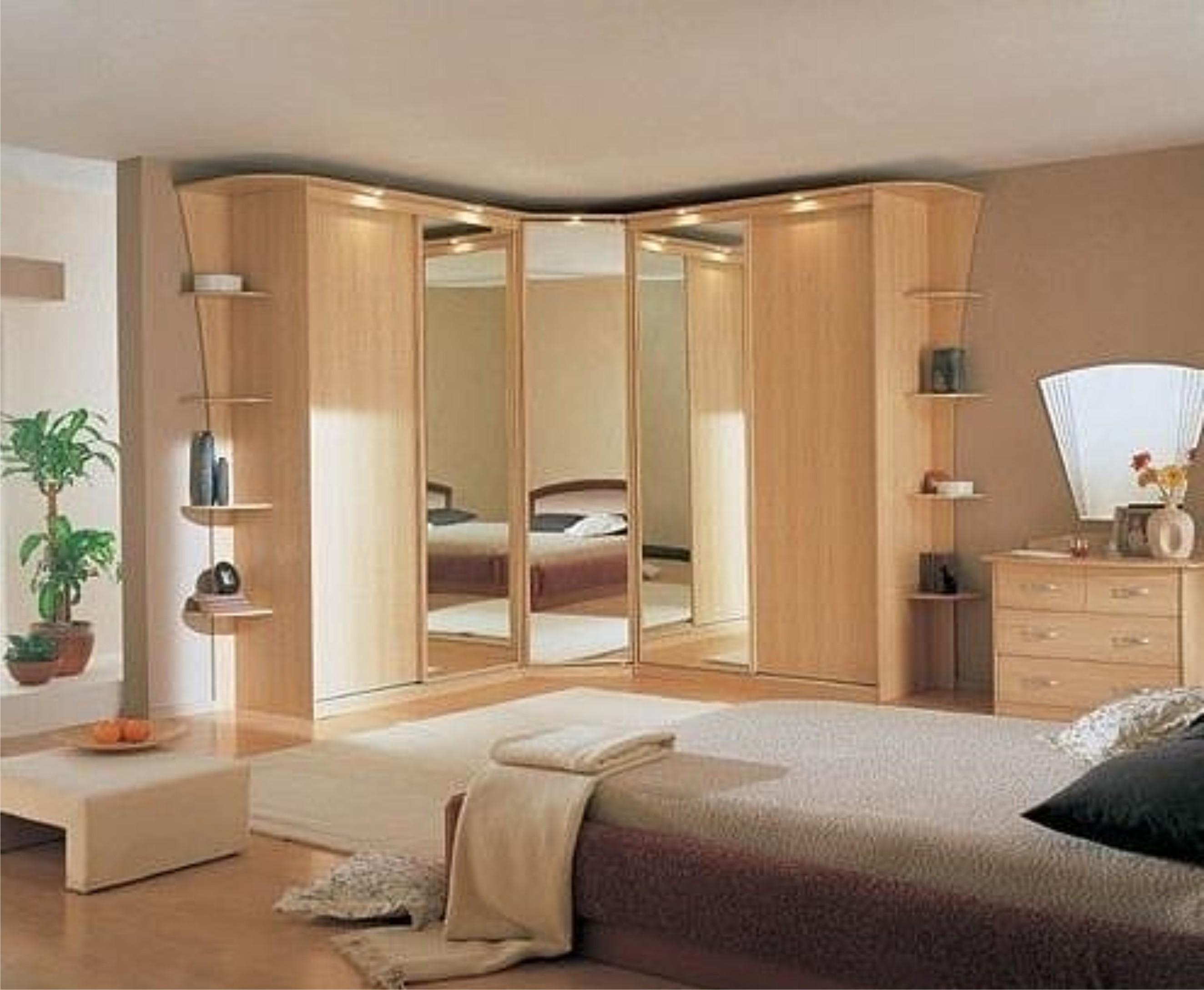 Шкаф в спальню: фото лучших тенденций в мире мебели.