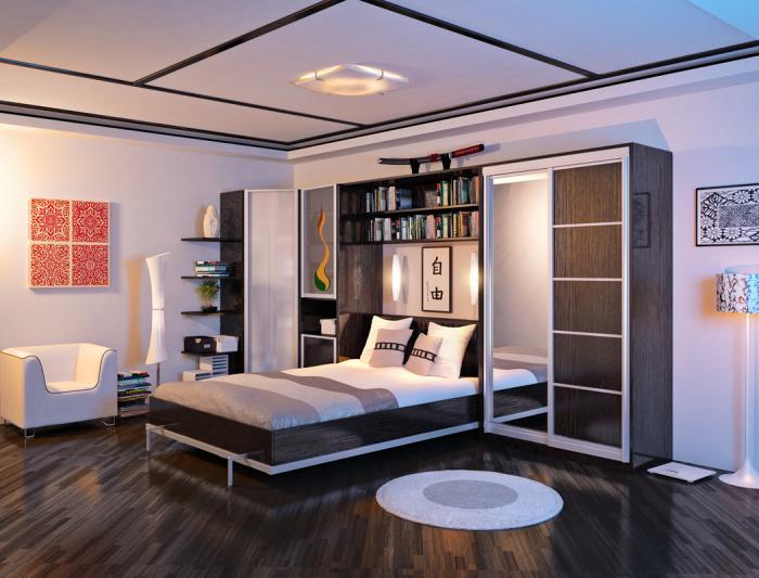 Спальный гарнитур с кроватью-трансформером