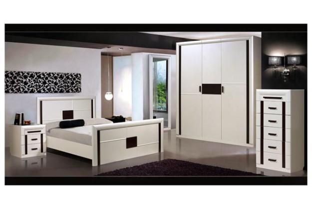Спальня белая «Доминика 2Д1»