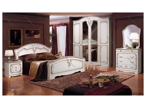 Спальня белая классическая Слониммебель «Валерия 11Д1»