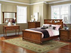 Спальня из массива дуба «Алези»