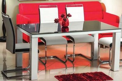 Стеклянный обеденный стол «Dionizos»