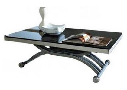 Стеклянный стол-трансформер «Carol»