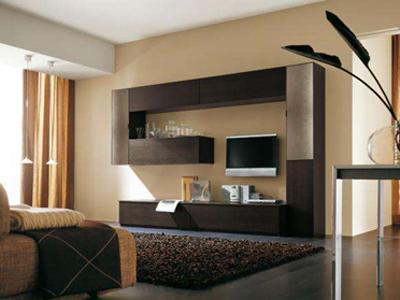 Стенка для гостиной комнаты стильная