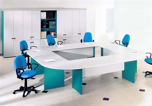 Стол для совещаний двухцветный