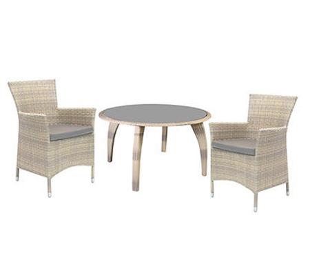 Стол и 4 кресла «Wicker»