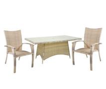 Стол и 4 стула «Wicker»