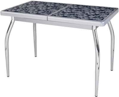 Стол кухонный со вставкой плитки «Шарди»