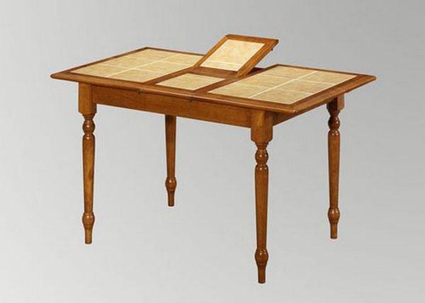 Стол обеденный с керамической столешницей