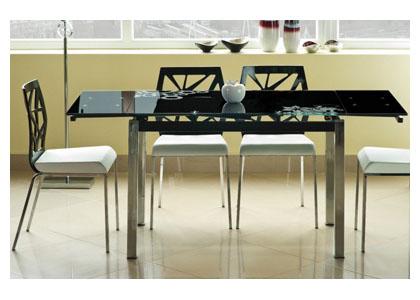 Стол обеденный со столешницей из закаленного стекла «GD-017»