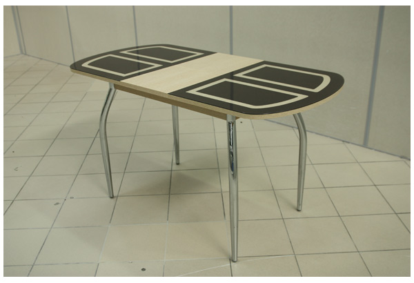 Стол «Портофино-1» с графическим рисунком