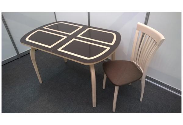 Стол «Портофино-2» с деревянными опорами