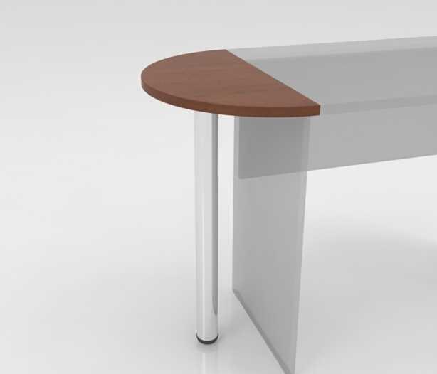 Стол приставной на металлической опоре СО-1
