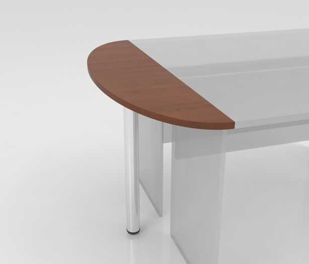 Стол приставной на металлической опоре СО-3