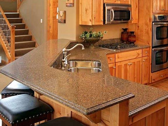 Столешница двухуровневая кухонная