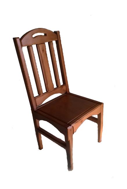 Столовый стул из массива сосны