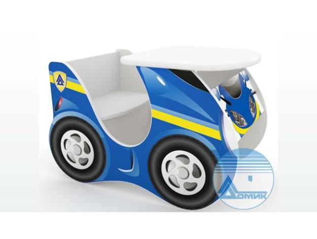 Столу-стул «Скутер» синий
