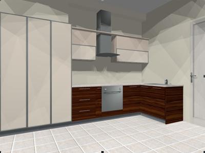 Угловая кухня «Макассар»
