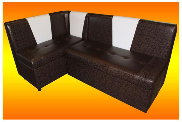 Угловой диван для кухни «Люкс»