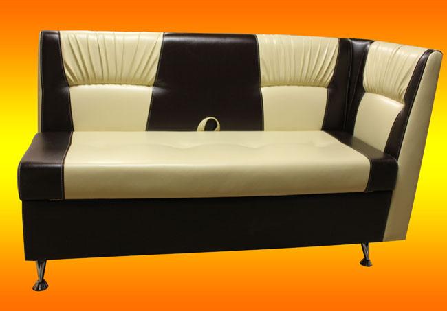 Угловой кухонный диван «Лилия»