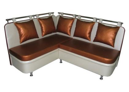Угловой кухонный диван с декоративными подушками «Кассел»