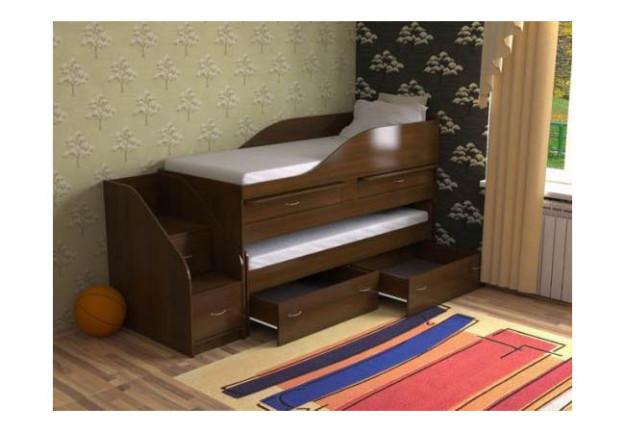 Выдвижная кровать «Дуэт-8» с ящиками