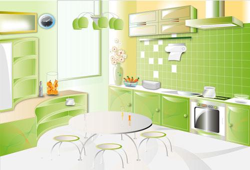 Создаем интерьер кухни своими руками