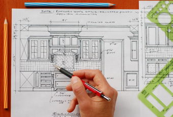Стандартные размеры кухонной мебели